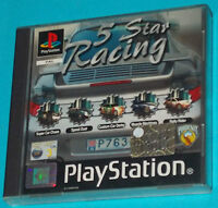 5 Star Racing - Sony Playstation - PS1 PSX - PAL