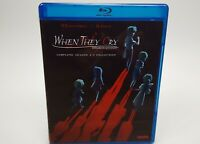 When They Cry Complete Collection Anime Seasons 1-3 Bluray Brand New