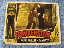 "1931 ""Frankenstein"" Lobby Card 11 X 14 Colin Clive Boris Karloff"