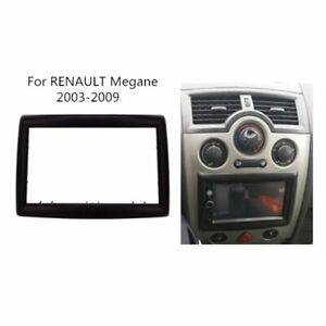 Marco 2 DIN Renault Megane II 2003-2009 Panel De Ajueste Estereo Radio Coche