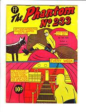 The Phantom No 233 1960's? New Zealand Bound Behind Rocks Cover!