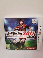 Pes 2011 Pro Evolution 3ds 3dsxl 2ds 2dsxl Nintendo Console Giochi Ita Calcio
