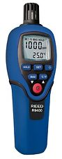 REED R9400 Carbon Monoxide Meter with Temperature, 1000ppm, -20 to 70°C