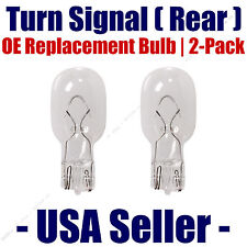 Rear Turn Signal Light Bulb 2-pack Fits Listed Toyota Vehicles - 921