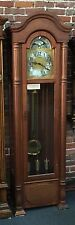 Beautiful  Emperor Grandfather Clock Made In West Germany Must See Serviced