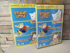 STUART LITTLE TRILOGY 1 2 3 DVD. UK. - FAST/FREE POSTING.