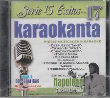 Napoleon Serie 15 Exitos Pistas Musicales & Karaoke New Nuevo