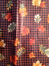 Longaberger Set of 2 Fabric Napkins - Fall Gingham
