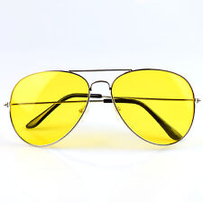 Night Driving Glasses HD Anti Glare Vision Polarized Yellow Lens Tinted Dazzle