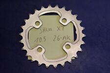 Hoja de cadenas Shimano xt 10s 64mm LK 26 dientes Tooth chainring