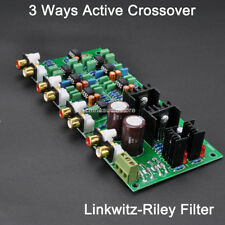 3 Ways -24dB/Oct Active Electrical Frequency Divider Crossover Network For BIAMP