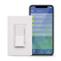 Leviton DW6HD-1BZ Decora Smart Wi-Fi 600W Universal LED/Incandescent Dimmer