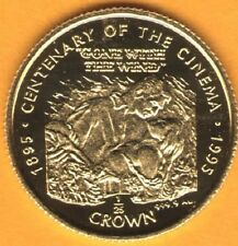 GONE WITH THE WIND - 1996 GOLD coin 1/25 ounce GIBRALTAR Proof condition - LowMi