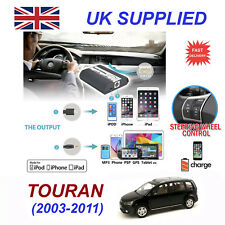 Para VW Touareg Iphone 5 6 7 8 Se 10 mp3 Aux Audio Digital Cambiador de CD