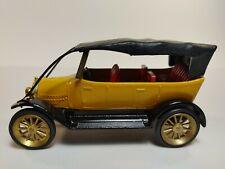 Gama Yellow Fiat 1911 4 Door Convertible #991 1:45 Scale