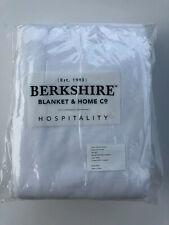 Full/Queen Fleece Blanket - White - Microloft - Berkshire Hospitality