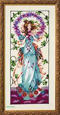 Mirabilia Cross Stitch Chart. MD146 Blossom Goddess Cheap worldwide Shipping.