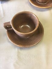 Monmouth Mojave Cup And Saucer Set Brown