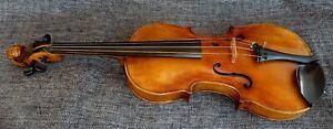 alte 4/4 Geige Violine Löwenkopf Old Violin Label Stainer Lion head spielbereit