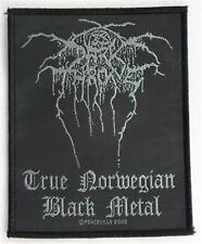 OFFICIAL LICENSED - DARKTHRONE - TRUE NORWEGIAN BLACK METAL SEW ON PATCH METAL