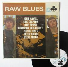 "LP 33T Various ( Eric Clapton, John Mayall, Peter Green, ...)  ""Raw blues"""