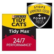 Purina Tidy Cats Clumping Cat Litter, Tidy Max 24/7 Performance Multi Cat Litter