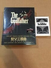 Godfather Trilogy Blufans Steelbook Gold Version With Bonus Playing Cards