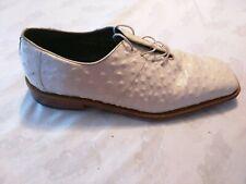 Giorgio Brutini Ostrich Skin Shoes