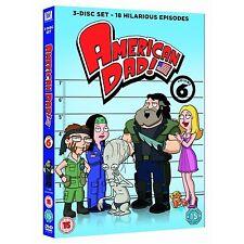 American Dad Fox TV Series - Complete Season 6  Exclusive Bonus Features DVD