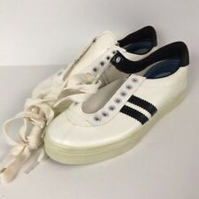1970s Shoes / 70s NOS 2 Stripe Tred Lite Athletic Shoes / Boy's 4/Women's 6