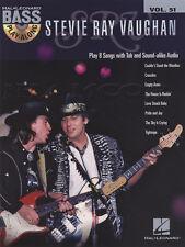 Stevie Ray Vaughan BASS GUITAR play-along Scheda Music LIBRO CON CD