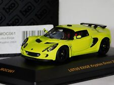 LOTUS EXIGE KRYPTON GREEN 2003 IXO MOC061 1/43