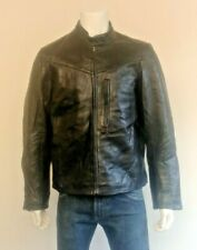 Rare Vintage Buco Michigan Cafe Racer Biker Heavy Quality Leather Jacket