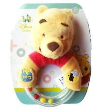 Rassel Winnie Pooh Disney Simba NEU Bär velour stick Honigtopf Biene baby ab 0M+