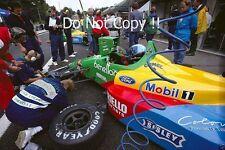 Alessandro Nannini Benetton B188 Belgian Grand Prix 1988 Photograph 1