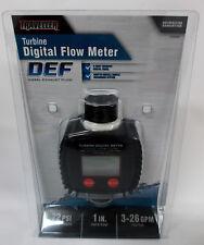 Traveller Turbine Digital Flow Meter 1289390 New