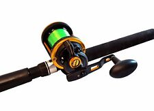 New PENN SQUALL 30 LD Prelined Rod and Reel Combo