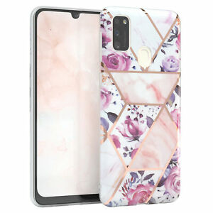 For Samsung Galaxy M30s/M21 Imd Protective Case TPU Phone cover Flowers Rose