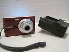Sony Cyber-shot DSC-W510 12.1MP 4x Zoom  Digital Camera +1GB Red