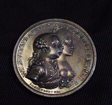 Netherlands Wilhelm V silver medal 1768