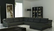 Corner Sofa Leather Pads Interior Design Couch Seat Set u Shape Eltmanng