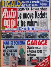 Auto OGGI n°173 1990 Test Volkswagen Rallye Golf Lotus Elan SE  [Q201]