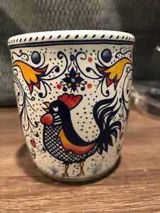 Scentsy Italian Rooster Nightlight Warmer     CERAMIC TOP ONLY--NO PLUG INCLUDED