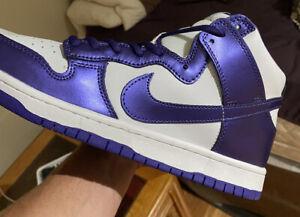 nike dunk high sb purple
