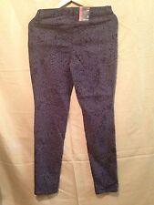 Style & co Denim Printed Legging Woman's Size 8  ( New With Tags ) #1428-Y