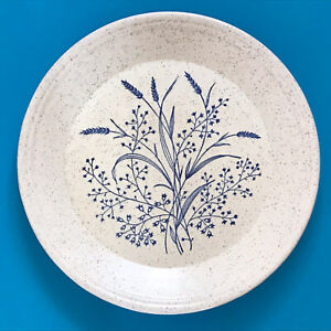Vintage Tams Blue Wheat / Grass Dinner Plate Diameter 25.5cm / 10 inches Ex Con