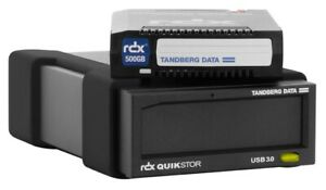 Tandberg RDX USB 3.0 Externes Laufwerk Catridge 500 GB