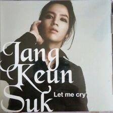 JANG KEUN SUK LET ME CRY 1st JAPAN SINGLE ALBUM K-POP PROMO CD