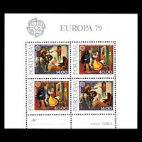 Portugal 1979 - EUROPA Stamps - Post & Telecommunications - Sc 1424a MNH