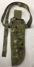 MTP CAMO SHEATH JUNGLE KNIFE SCABBARD POUCH WITH STRAPPING - British Army Issue